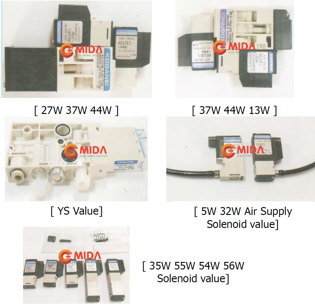 Air supply value SMT feeder