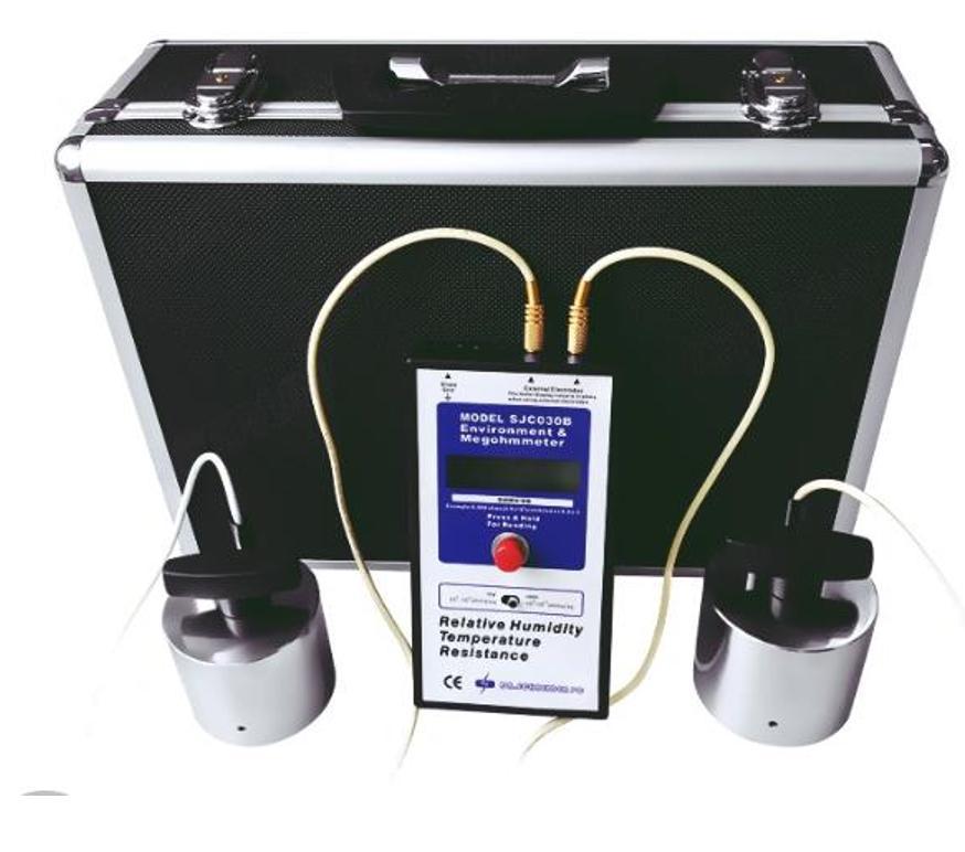 Thiết Bị Đo Điện Trở Bề Mặt Loại Quả Cân: Hammer Type Surface Resistance Meter SJC-030B